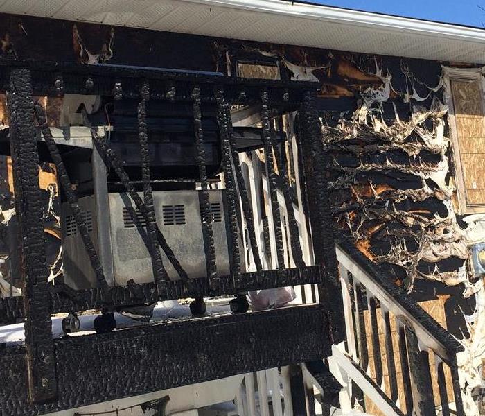 Fire Damage Restoration in Calgary, Alberta Before
