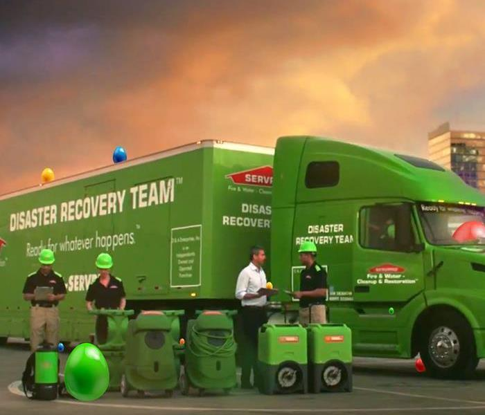 Storm Damage When Storms or Floods hit Calgary, SERVPRO is ready!